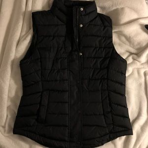 Black Gap Puffy Vest